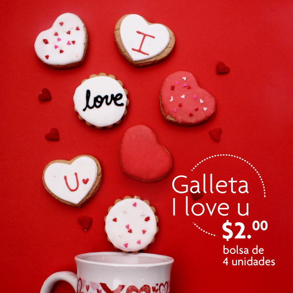 Galleta I Love You